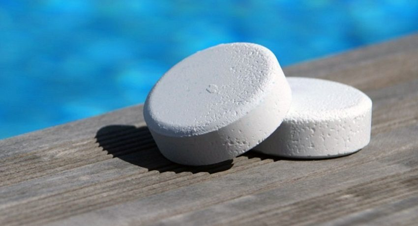 Xимия для бассейна в таблетках